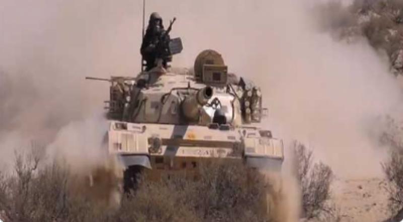 پاک فوج کی موسم سرما کی سالانہ تربیتی مشق 'ضرب حدید' جاری ہے