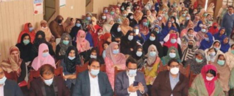 سیالکوٹ : گورنمنٹ مرے کالج کے مولوی میر حسن ہال میں خواتین ہراسگی ایکٹ/وراثتی جائیداد میں حصہ بارے شعوری آگاہی سیمینار