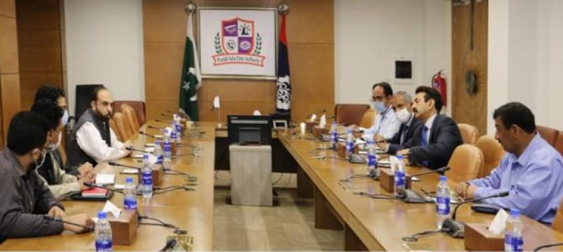 سیکرٹری جنگلات پنجاب کیپٹن (ر)محمد آصف کی پنجاب سیف سٹیزاتھارٹی ہیڈ کوارٹرآمد, چھانگامانگا جنگل کی ڈیجیٹل مانیٹرنگ کرنے کا عزم