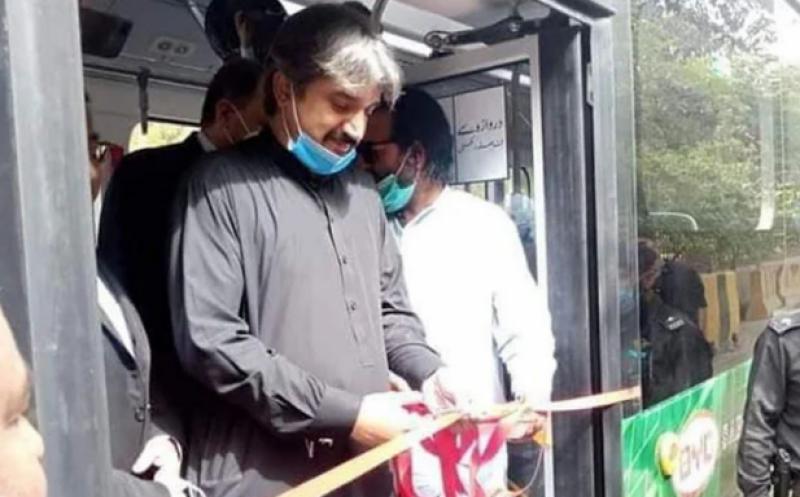 کراچی میں پہلی الیکٹرک بس کا افتتاح, ماحول دوست الیکٹرک بسوں کا کرایہ مناسب ہو گا: سندھ حکومت