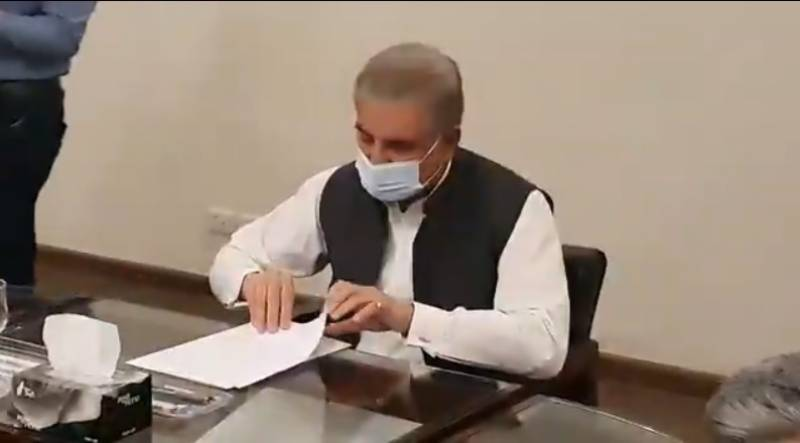 شاہ محمود قریشی نے آرمڈ فورسز انسٹیٹیوٹ میں طبی سہولتوں کو سراہا