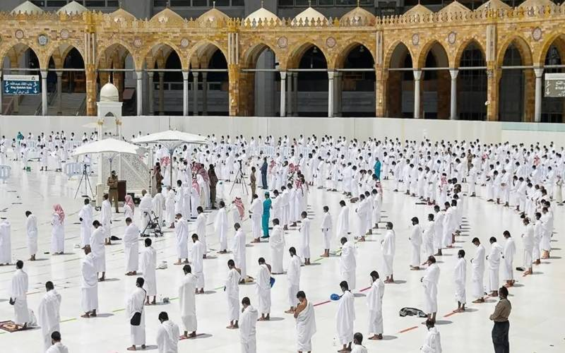 مسجد حرام میں نماز تراویح کی اجازت