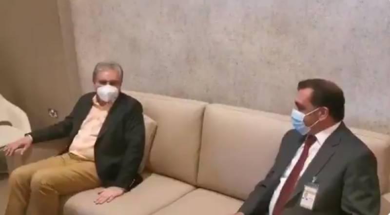 وزیر خارجہ مخدوم شاہ محمود قریشی کی متحدہ عرب امارات آمد