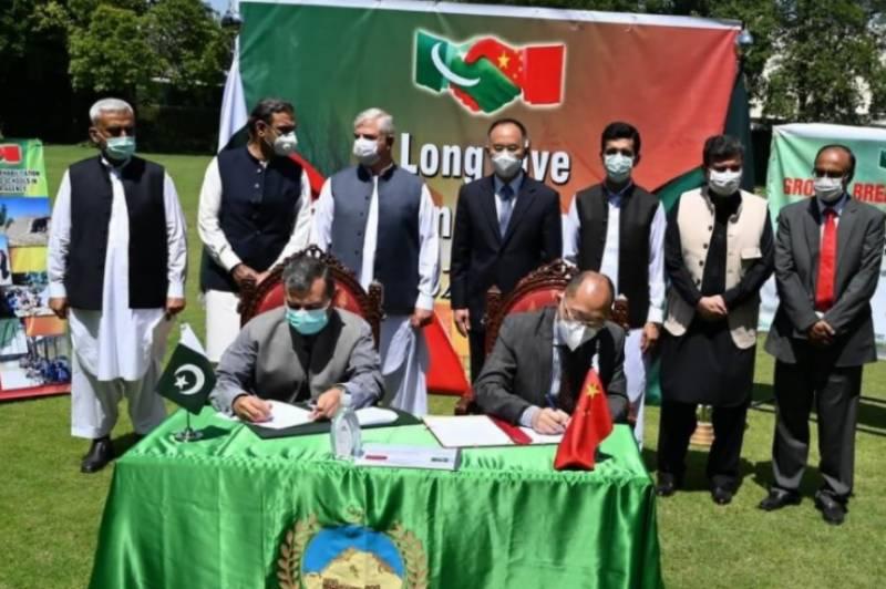 وزیراعلیٰ اور چینی سفیر نونگ رونگ نے ضلع خیبر میں تباہ شدہ سکولوں کی تعمیرنو کےمنصوبے کے پہلےمرحلےکا افتتاح کردیا