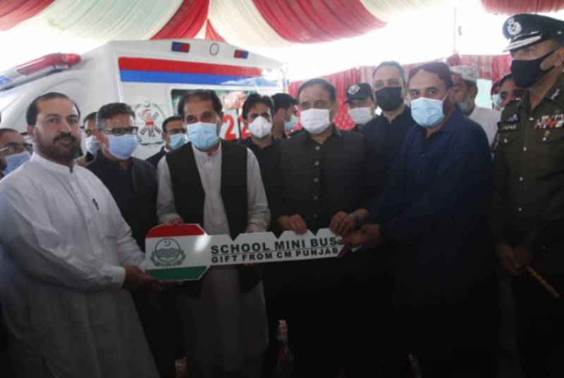 وزیراعلیٰ پنجاب سردار عثمان بزدار کی بلوچستان کے علاقے درگ آمد
