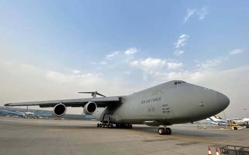 امریکا کی پہلی ہنگامی امداد بھارت پہنچ گئی