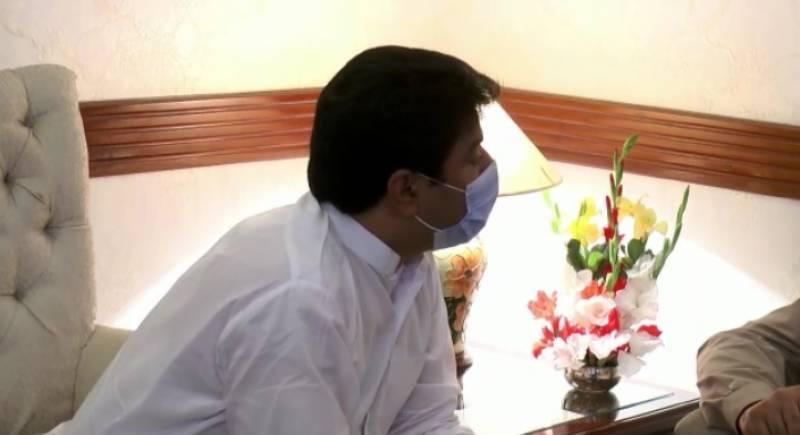 وزیراعلیٰ پنجاب سردار عثمان بزدارسے اراکین قومی وصوبائی اسمبلی کی ملاقات