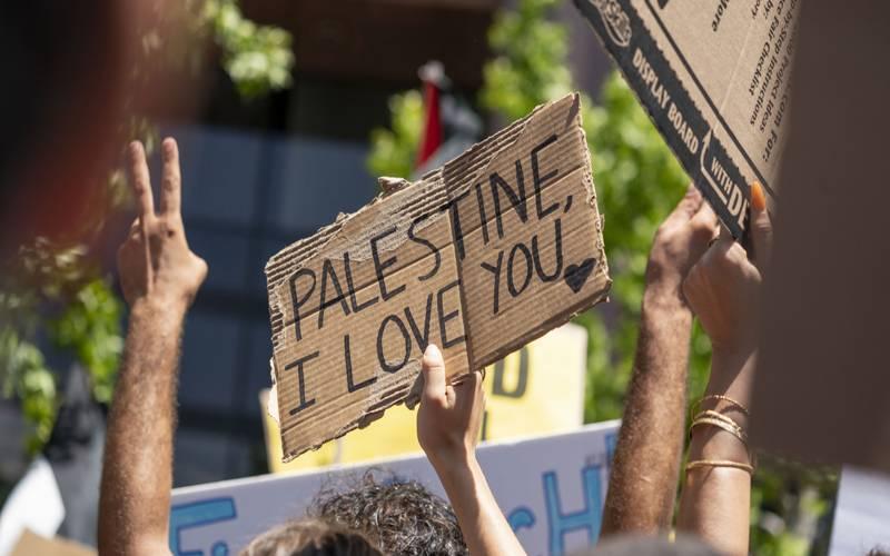 دنیا بھر میں فلسطینیوں پراسرائیلی مظالم کیخلاف احتجاجی مظاہرے جاری