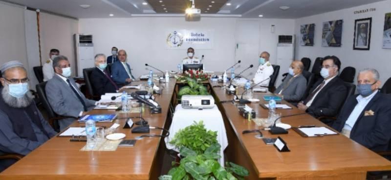 بحریہ فاؤنڈیشن کی کمیٹی آف ایڈمنسٹریشن کا کراچی میں اجلاس،ترجمان پاک بحریہ
