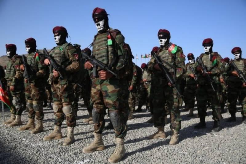 افغانستان: 437 نئے کیڈٹس کمانڈوزفوج میں شامل