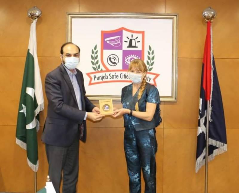 سیف سٹی منصوبے سے لاہور کے سیفٹی انڈیکس میں واضح بہتری آئی ہے:کیتھرین میکنزی