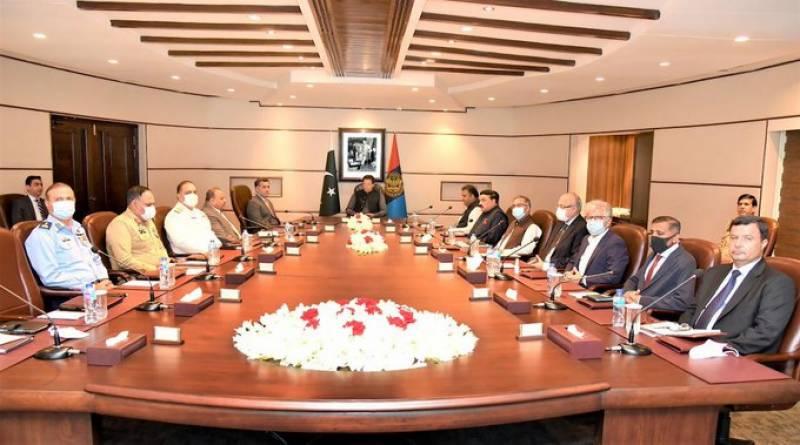 وزیراعظم کی زیر صدارت آئی ایس آئی ہیڈکوارٹرز میں اعلیٰ سطحی اجلاس