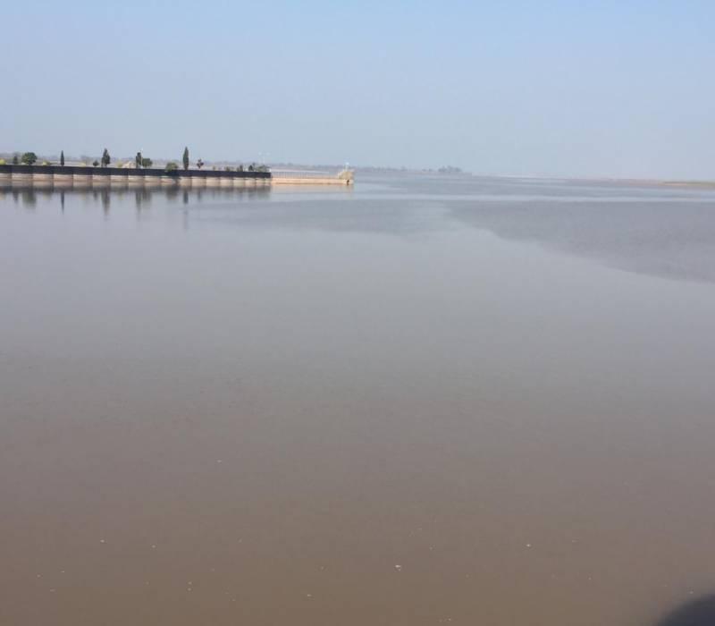 سیالکوٹ : سندھ طاس معاہدہ کی خلاف ورزی، بھارت نے دریائے چناب کا پانی مقبوضہ کشمیر کے بگلیہار ڈیم پر روکے رکھا