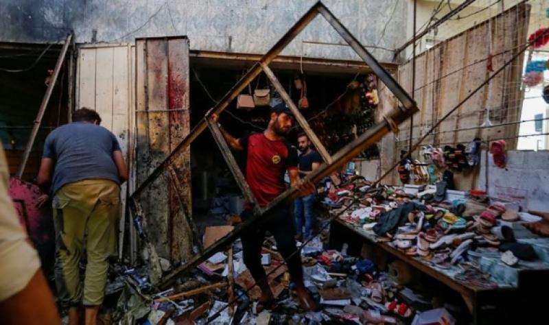 عراق میں عید کی شاپنگ کے دوران بازار میں خودکش حملہ، 36 افراد جاں بحق
