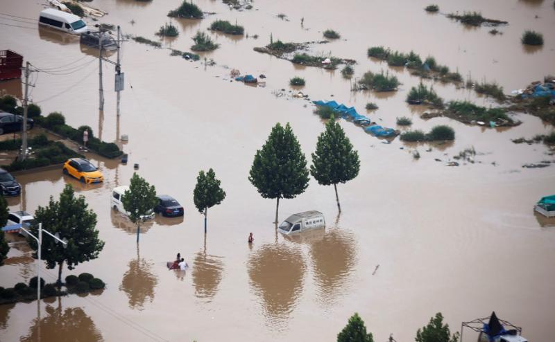 چین: بارشوں کا ایک ہزار سالہ ریکارڈ ٹوٹ گیا، 25 افراد ہلاک