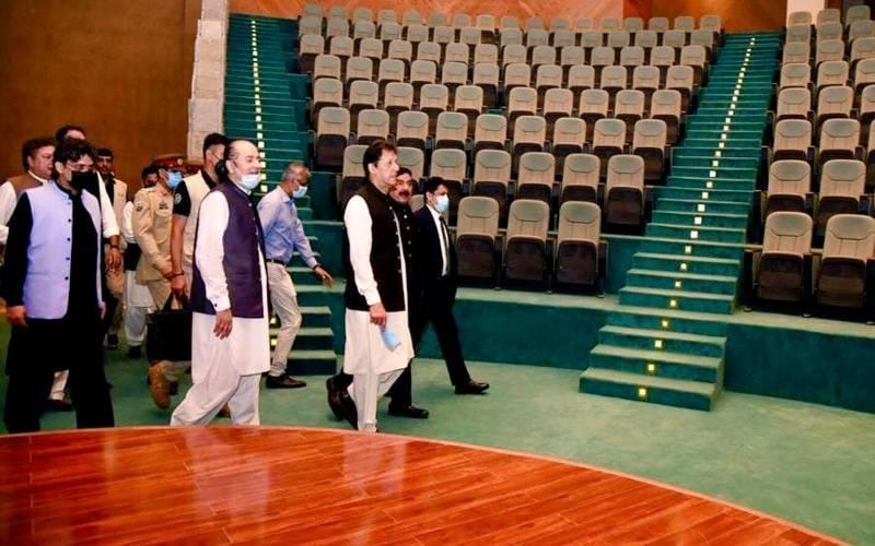 عمران خان کا ایف نائن پارک میں سٹیزن کلب کا دورہ