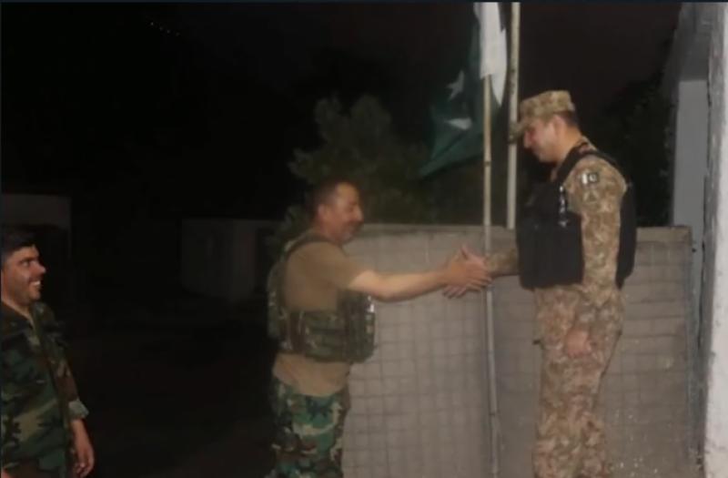 5 افسران سمیت 46 افغان فوجی افغان حکام کے حوالے: آئی ایس پی آر