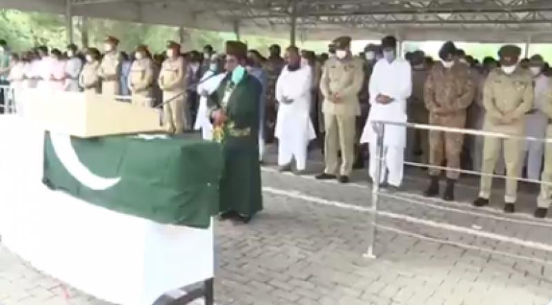 کیپٹن کاشف شہید سپرد خاک، نماز جنازہ میں آرمی چیف کی بھی شرکت