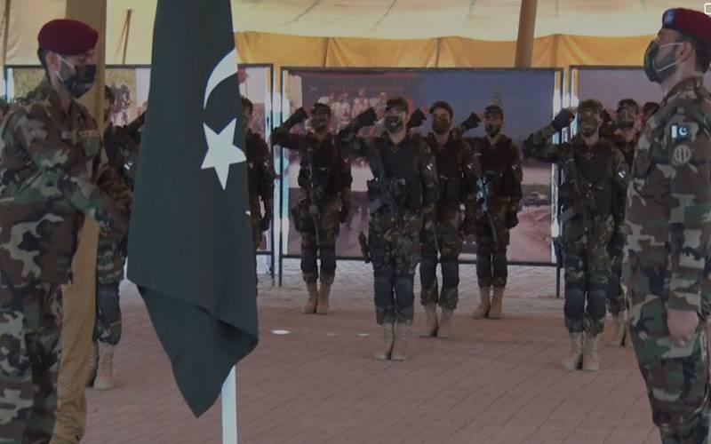 پاکستان اور قازقستان کی مشترکہ فوجی مشق دوسترم سوئم کا آغاز ہوگیا۔