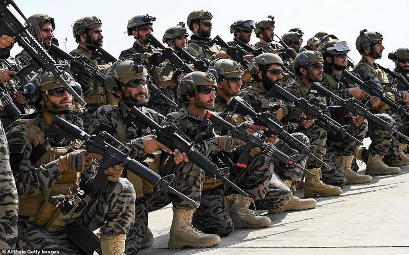 کابل ہوائی اڈے پرطالبان کی فاتحانہ پریڈ