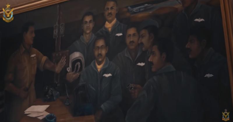 یومِ دفاع کی مناسبت سے پاکستان فضائیہ نے ملی نغمہ جاری کردیا