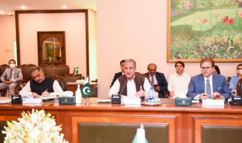 اسلام آباد، پاکستان اور اٹلی کے درمیان وفود کی سطح پر مذاکرات کا انعقاد، دو طرفہ تعلقات مضبوط بنانے پر اتفاق