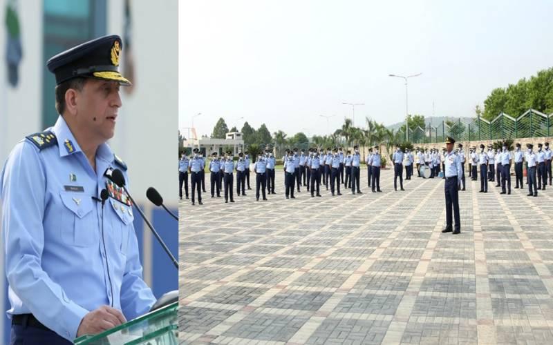 پاک فضائیہ خطے میں پاکستان کی سالمیت اور وقار کے دفاع کیلئے مکمل تیار ہے۔ سربراہ پاک فضائیہ