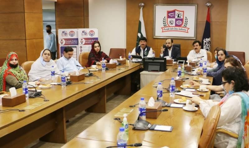 خیبرپختونخواہ ممبران اسمبلی کے وفد کا پنجاب سیف سٹیز اتھارٹی کا دورہ