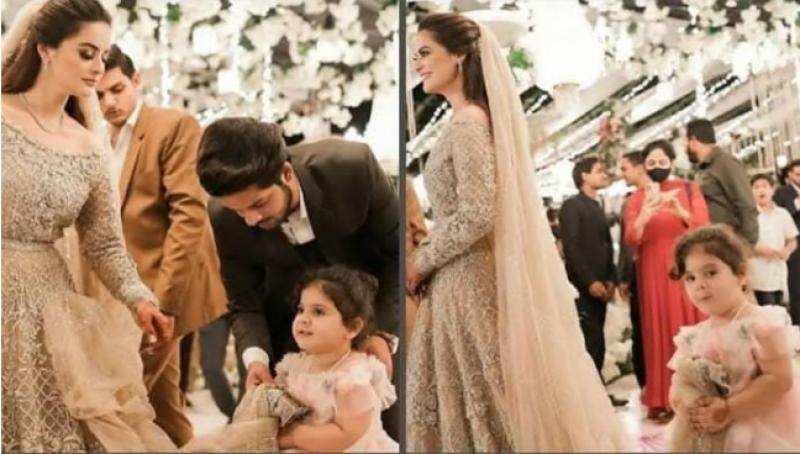 منال خان اور احسن محسن کے ولیمے کے سوشل میڈیا پرچرچے