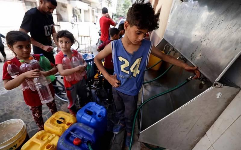 غزہ کی 97 فی صد آبادی زہریلا پانی پینے پرمجبور