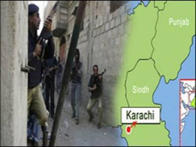 کراچی، پولیس اوررینجرزکا مشترکہ آپریشن، دودرجن سے زائد افراد گرافتار۔