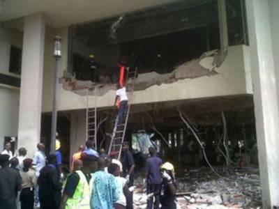 نائیجریا کےدارالحکومت ابوجا میں اقوام متحدہ کی عمارت میں دھماکے سے ہلاکتوں کی تعداد بیس ہوگئی