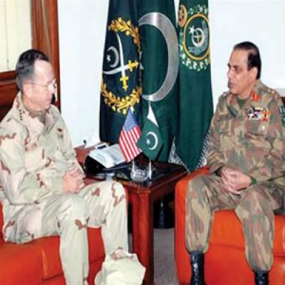 چیف آف آرمی سٹاف جنرل اشفاق پرویز کیانی اور امریکی جوائنٹ چیف آف سٹاف مائیک مولن کے مابین اسپین میں ملاقات ہوئی ہے۔