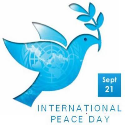 پاکستان سمیت دنیا بھرمیں آج امن کا عالمی دن منایا جائے گا۔