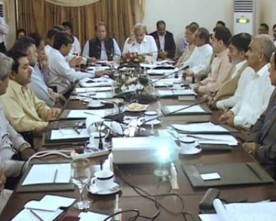 CM Punjab Dengue Meeting