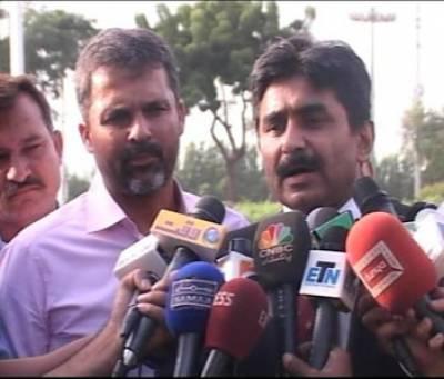 Lahore Former Hockey and Cricket Players Media Talk