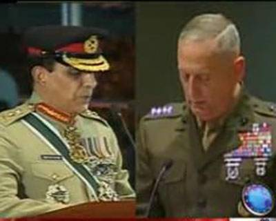 Gen Kiyani and Gen James Meeting on Haqqani Network
