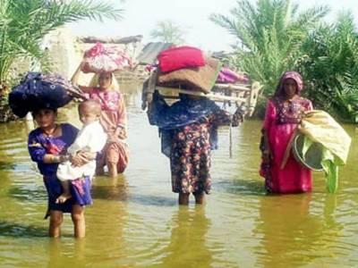 سندھ کےسیلاب سے متاثرہ علاقے بیماریوں کی آماجگاہ بن گئے۔ خوارک اور طبی سہولیات کی عدم دستیابی کےباعث متاثرین شدید مشکلات کا شکارہیں۔