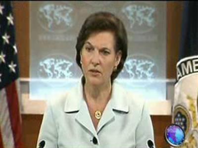 پاکستان کے ساتھ دہشت گردی کے خاتمے کے لیے مل کر کام کررہے ہیں۔ امریکہ