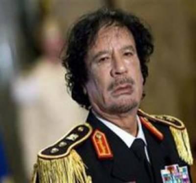 لیبیا میں عبوری کونسل کےکمانڈروں نےمعمر قذافی کوزخمی حالت میں گرفتارکرنے کے بعدہلاک کردیا