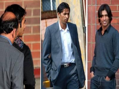 سپاٹ فکسنگ کیس، پاکستانی کھلاڑیوں کوسزائیں آج سنائی جائیں گی،سلمان بٹ، محمدعامراورمحمد آصف نےممکنہ سزاؤں میں کمی کی اپیل کر دی ۔
