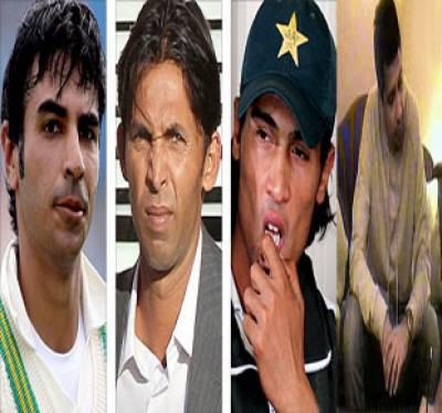 سپاٹ فکسنگ کیس، برطانوی عدالت میں پاکستانی کھلاڑیوں کوسزائیں، سلمان بٹ کودھائی سال، محمدعامرکوچھےماہ اورمحمد آصف کوایک سال ۔