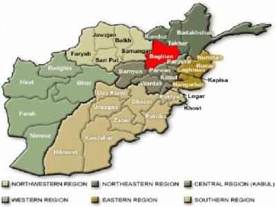 شمالی افغانستان کے صوبے بغلان میں مسجد کے قریب عید ملنے والے نمازیوں پر خود کش حملے کے نتیجے میں سات افرادجاں بحق