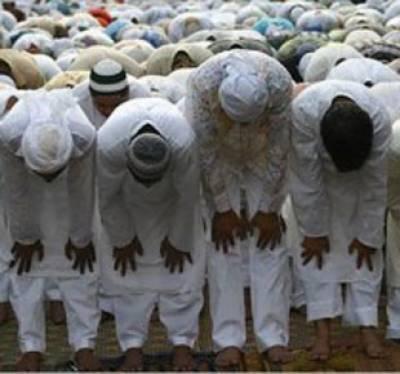 پاکستان کے قبائلی علاقوں میں حسب روایت آج سعودی عرب کیساتھ عید منائی جارہی ہے۔