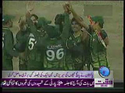 Pakistan vs Sri Lanka Match News Package 21 November 2011