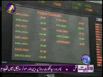 Karachi Stock Exchange News Package 23 November 2011
