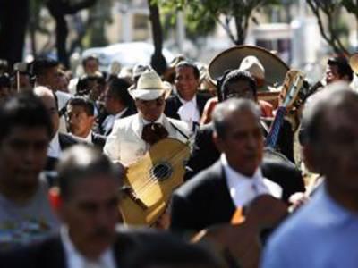 میکسیکو میں خوبصورت دھنوں، گیتوں اور میوزیکل پریڈ سے سجا میراچی ڈے منایا گیا۔