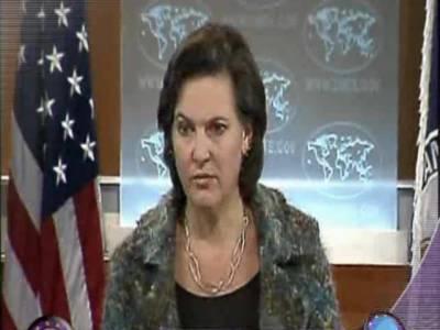 نیٹو رسد کی بحالی کے لئے پاکستان سے مذاکرات جاری ہیں توقع ہے سپلائی جلد بحال ہوجائے گی۔ وکٹوریا نولینڈ