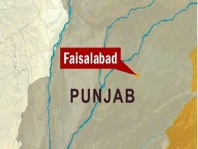 فیصل آباد میں مسافر وین کا سلنڈر پھٹنے سے چار افراد جھلس کر جاں بحق ہوگئے