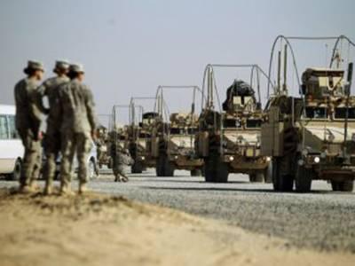 امریکہ کیلئے بدترین عراق جنگ اپنے اختتام کو پہنچ گئی، آخری امریکی دستے کی جانب سےعراقی سرحد چھوڑنے کا شہریوں نے زبردست خیرمقدم کیا۔